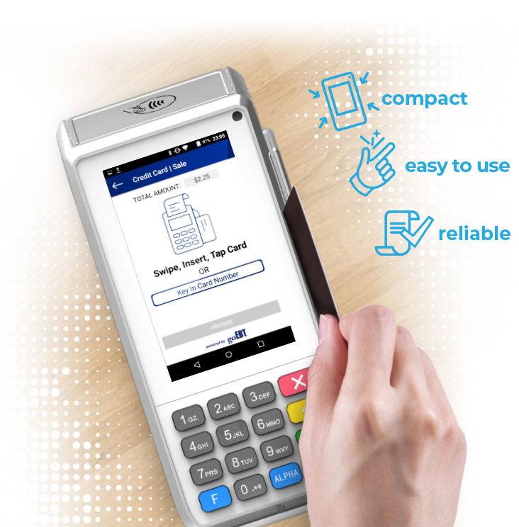 COUNTERTOP payment terminal | goEBT - EBT, Credit/Debit Processor